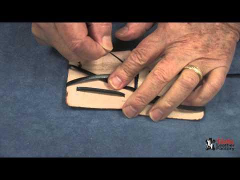 Leather Magic Billfold Kit Tutorial