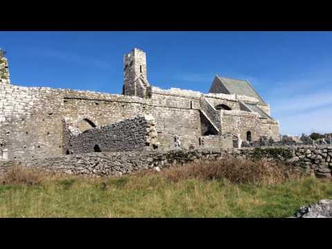 Corcomroe Abbey (St. Mary of the Fertile Rock), Burren, County Clare, Ireland #burren #ireland