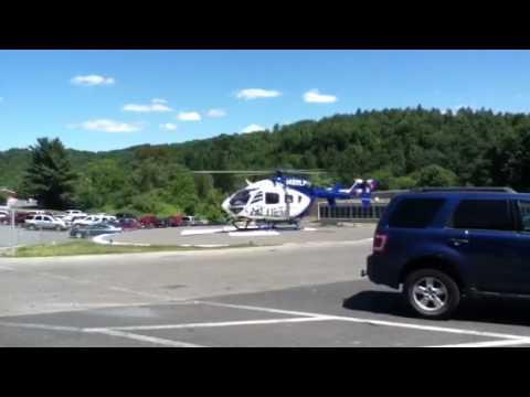 Life flight landing Clearfield pa