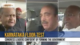 Karnataka Floor test: Congress leaders confident of forming the government