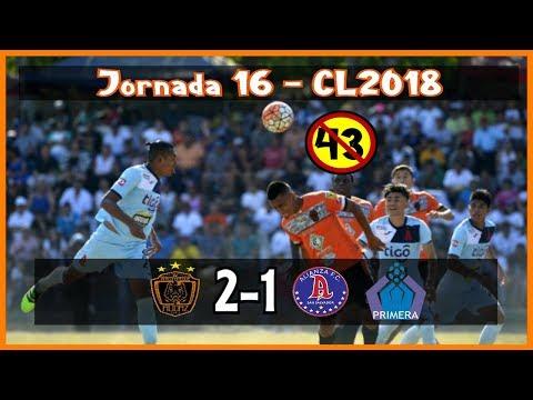 CD Audaz [2] vs Alianza FC [1] Fin del Invicto+RADIO :3.29.2018: ES Clausura 2018