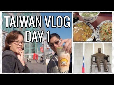 VLOG | Taipei Taiwan | Klook Wifi Modem, How to use MRT lockers, Sun Yat Sen Memorial | Day 1