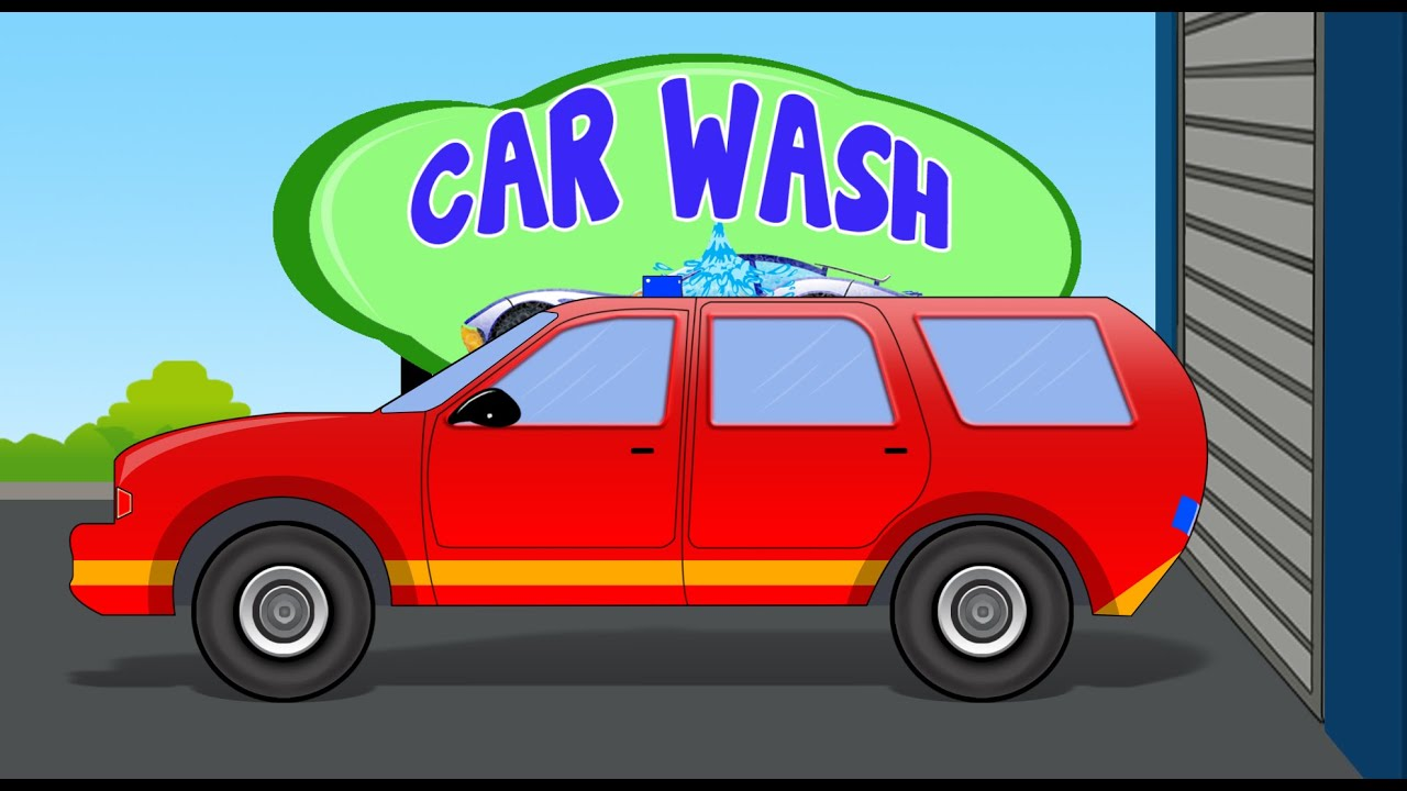 fire chief car car wash video for kids toddlers youtube