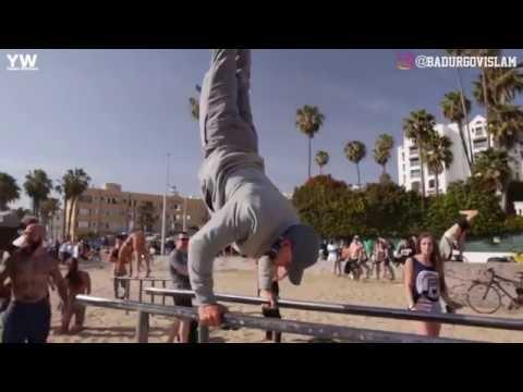 STÄRKSTER Street Workout Athlet verkleidet sich als ALTER MANN!