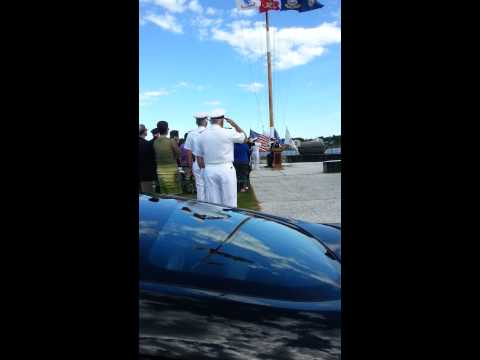 National Anthem at the Massachusetts Maritime Army Commisioning Ceremony