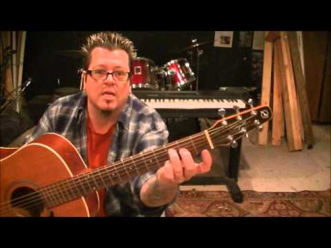 How to play Laid by Matt Nathanson on guitar by Mike Gross