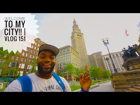 Welcome to CLEVELAND, OHIO!   Vlog 151