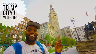 "Welcome to CLEVELAND, OHIO!   Vlog 151   ""This reminds me so much of Warsaw, Poland"""