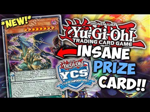 Yu-Gi-Oh! The New YCS Prize Card is INSANE!! | Chaos Emperor, the Dragon of Armageddon