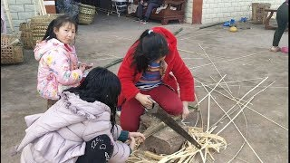 農村娃的禮拜天是這樣度過的,看到她們讓我想起了我的童年【90後寶媽雯雪】 thumbnail