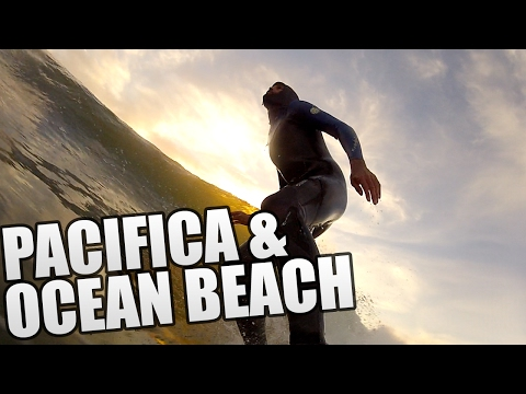 Doble surf: Pacifica y Ocean Beach - WattoSurf