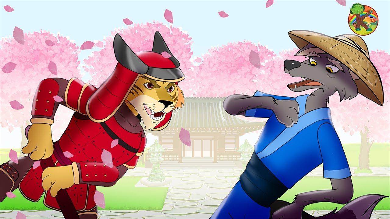 Serigala dan Tujuh Anak Kambing - Petualangan Kota Tokyo | KONDOSAN Bahasa Indonesia | Cerita Kartun