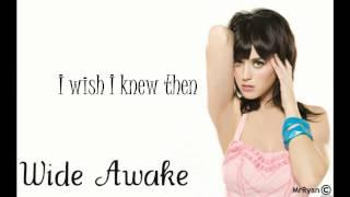 Katy Perry - WIDE AWAKE LYRIC VIDEO
