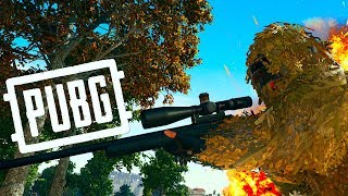 M24 + 15X + МАСКХАЛАТ В ТОПЕ ! - PUBG / PLAYERUNKNOWN'S BATTLEGROUNDS