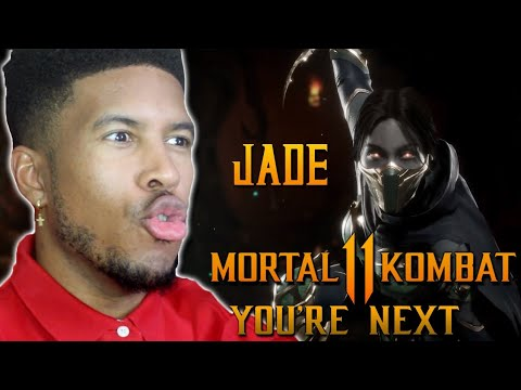 MORTAL KOMBAT 11 JADE REVEAL TRAILER REACTION thumbnail