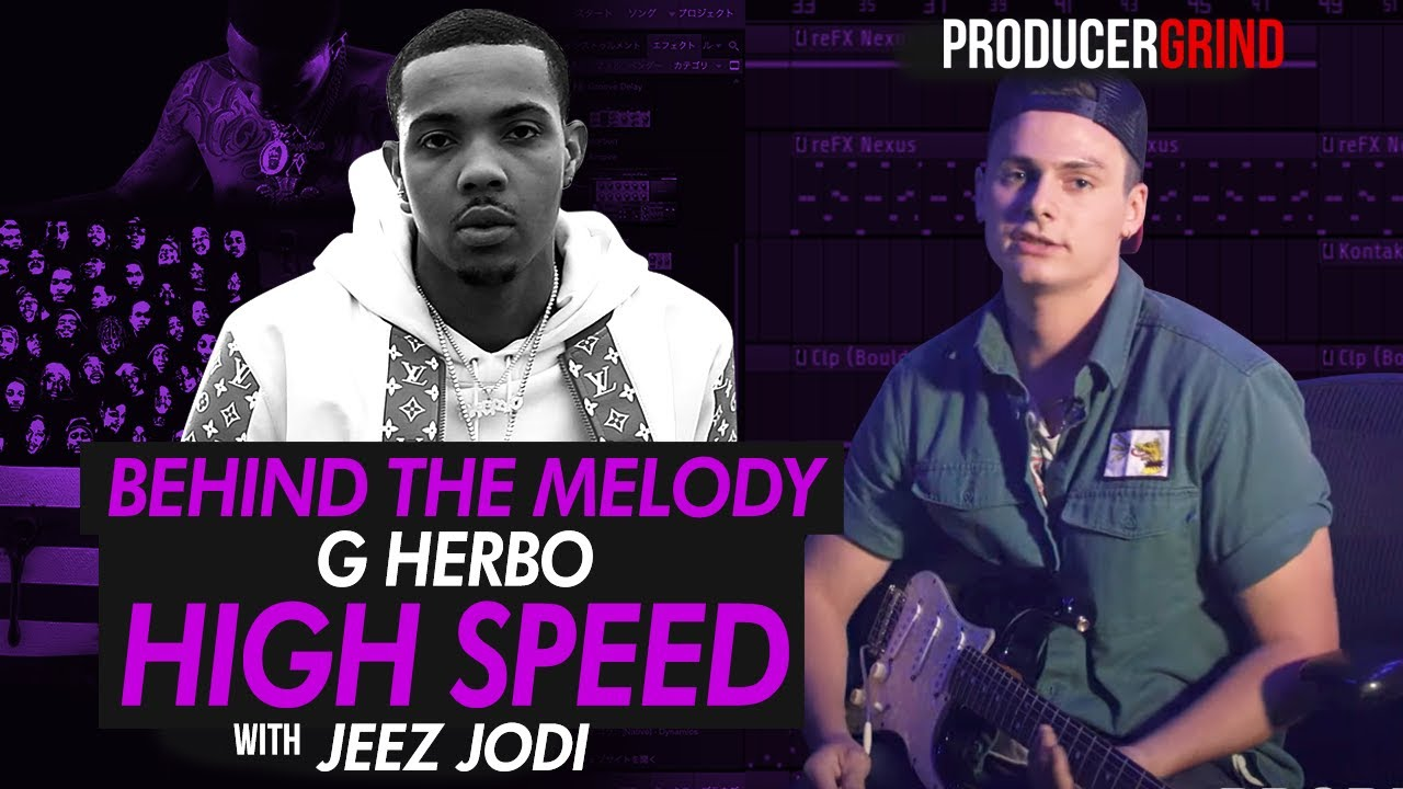 "The Making of G Herbo ""High Speed"" Guitar Melody w/ Jeez Jodi"
