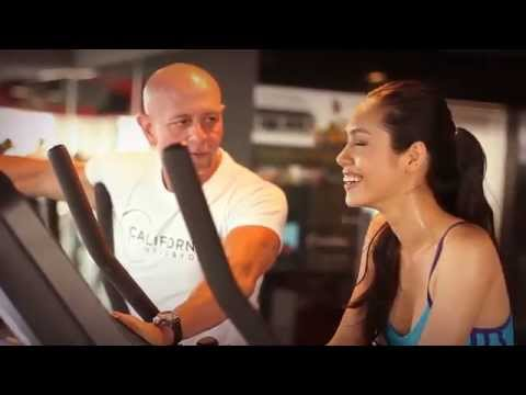 The work out of Miss Universe Vietnam Hoang My At California Fitness & Yoga Centers