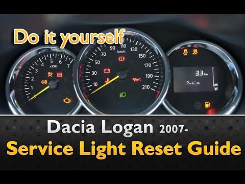 Dacia Logan Oil Service Maintenance Reset Guide Youtube