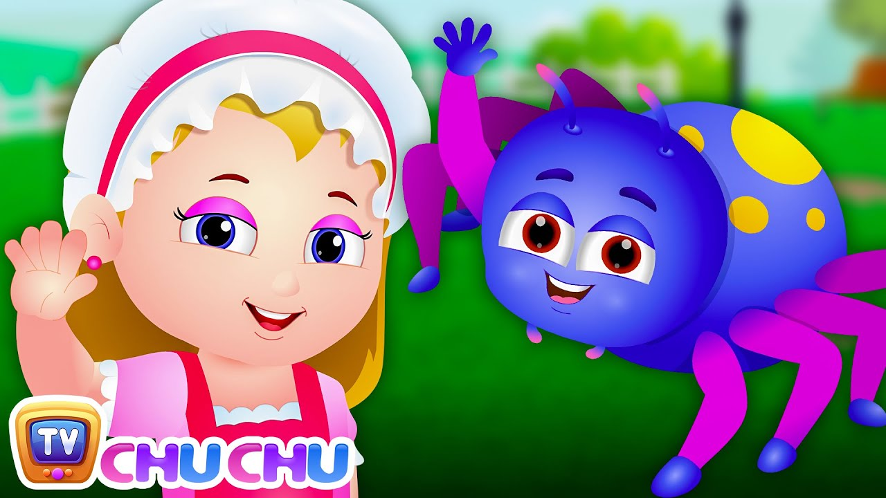 little miss muffet nursery rhyme cartoon animation nursery rhymes songs for children chuchu tv - Children Cartoon Pictures