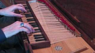Ryan Layne Whitney (Bach: Invention No. 14 in B-flat major, on clavichord)