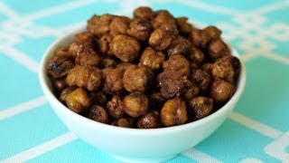 Snack Food Recipes For Kids: How To Make Roasted Chickpeas For Children - Weelicious