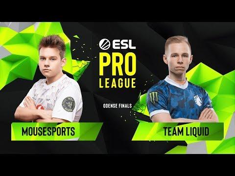 CS:GO - Team Liquid Vs. Mousesports [Nuke] Map 1 - Group B - ESL Pro League Season 10 Finals
