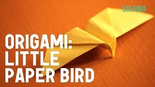 Origami: How To Make A Little Paper Bird - Easy And Fun Folding