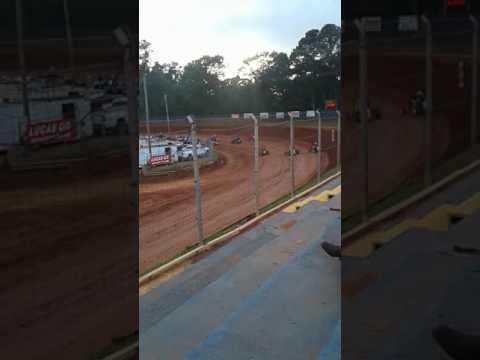 Toccoa speedway 2k17 wreck
