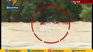 Five Rescue Staff Drown into Tungabhadra River | Due to Heavy Flood Water | at Karnataka