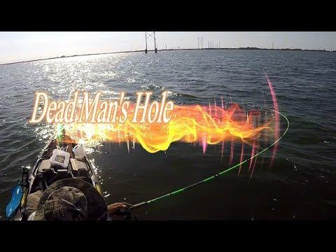 Kayak Fishing Dead Man's Hole - Corpus Christi, TX