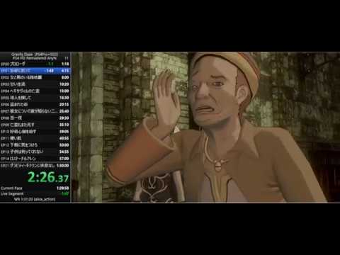 Gravity Daze(Gravity Rush) Remastered Any% Speedrun in 1:29:00(WR)