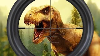 REAL DINO HUNTER - Walkthrough Gameplay Part 1 - (Jurassic Adventure Game Android)