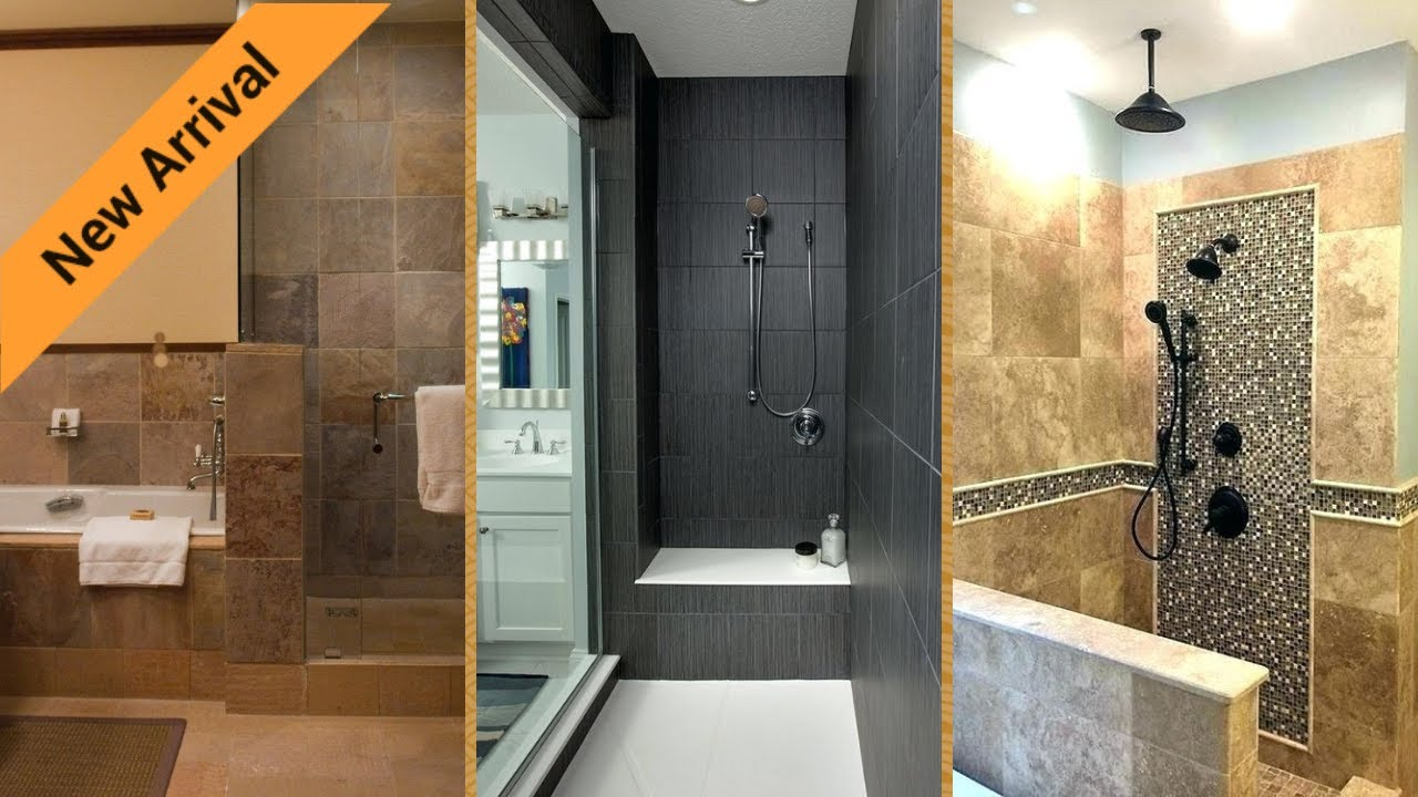 Doorless Shower Ideas Walk In Designs Youtube