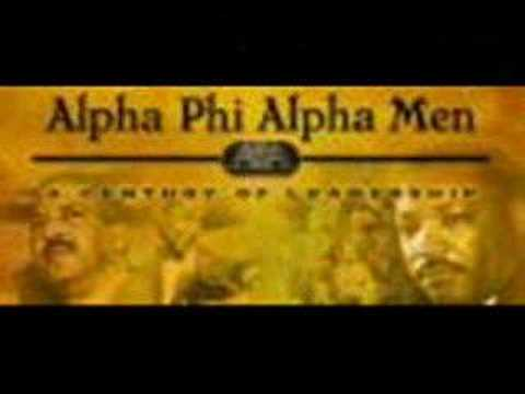 A TRIBUTE TO  ALPHA PHI ALPHA FRATERNITY INC.