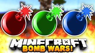 "Minecraft BOMB WARS ""THE ULTIMATE TEAM!"" #2 w/ Preston, AliA & Nadeshot"