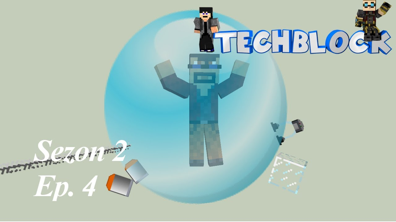 Produkcja powietrza | S2E4 | TechBlock 2  (GALACTICRAFT) | HD