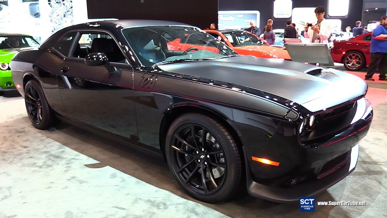 2017 Dodge Challenger T A Exterior And Interior Walkaround New York Auto Show
