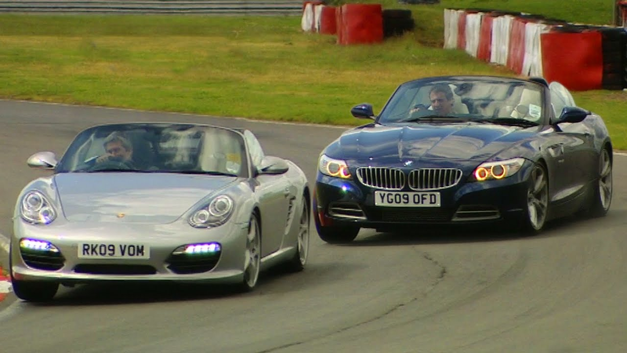 Bmw Z4 Vs Porsche Boxster S Tbt Fifth Gear Youtube