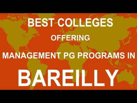 Best Colleges Offering Management PG Programs in Bareilly