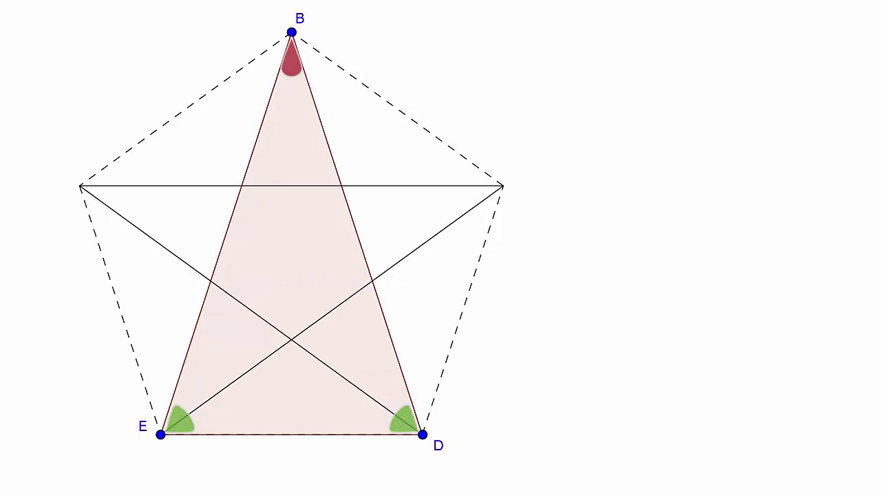 pythagoras pentagramm goldener schnitt youtube. Black Bedroom Furniture Sets. Home Design Ideas