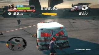 BLOOD DRIVE (PS3) GAMEPLAY
