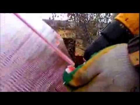 видео: Авто навес из сотового поликарбоната своими руками