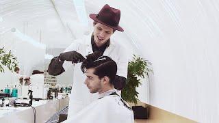 Смотреть видео BON мужская парикмахерская в Санкт-Петербурге онлайн