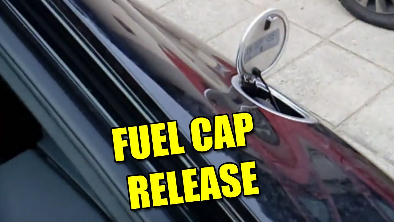 How To Open Fuel Cap Lid With Emergency Release Audi Tt