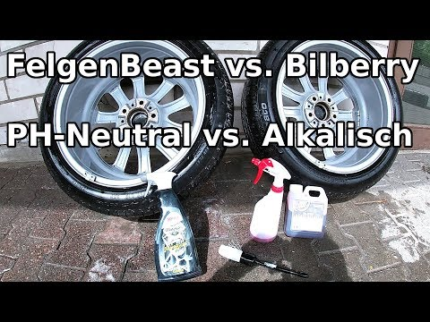 Sonax FelgenBeast vs. ValetPro Bilberry Wheel Cleaner || PH-Neutraler vs. Alkalischer Felgenreiniger
