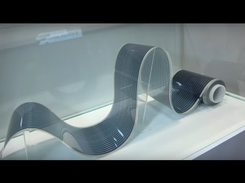 Flexible low-cost solar power by Kolon Industries