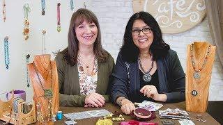 Artbeads Cafe - Fiber Art Fun with Cynthia Kimura and Cheri Carlson