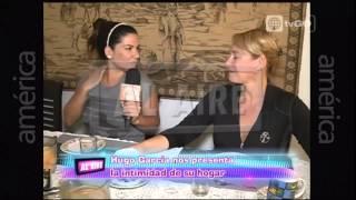 Hugo García  nos muestra su casa - Al Aire - 02-06-2015