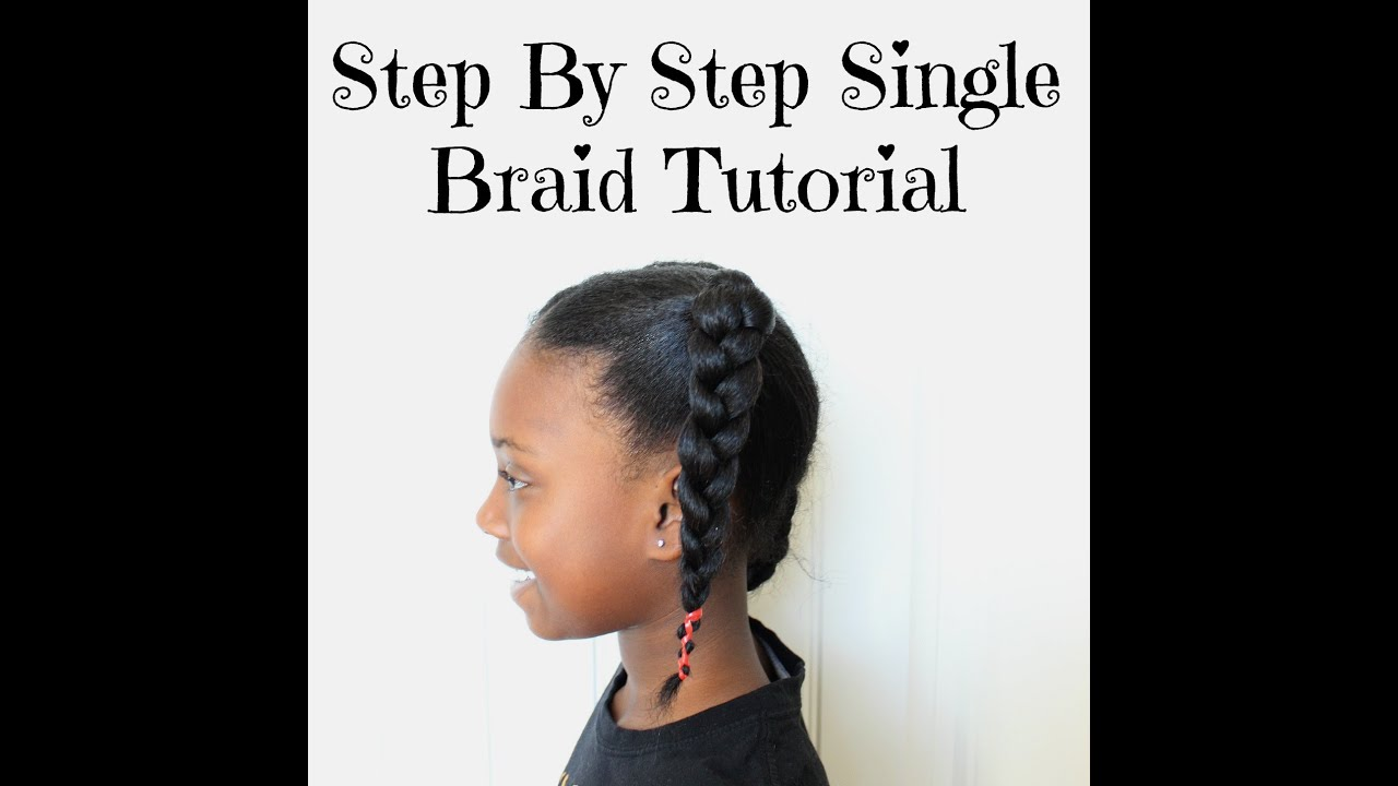 How To Braid Hair For Beginners  Step By Step