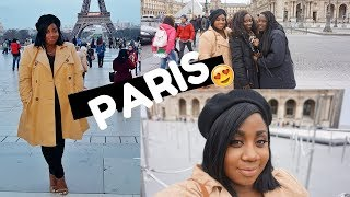 PARIS VLOG! BLACK GIRL MAGIC, TOURISTY STUFF, NUTELLA CREPES & DISNEYLAND!